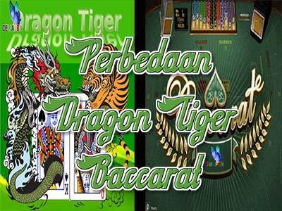 Perbandingan Dari Game Dragon Tiger serta Baccarat